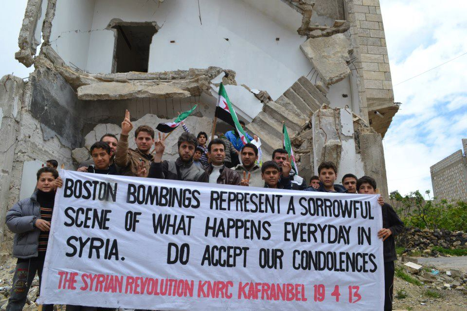 kafranbel_on_boston_bombing