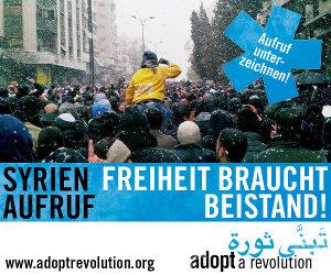 Syrien-Aufruf: Freiheit braucht Beistand