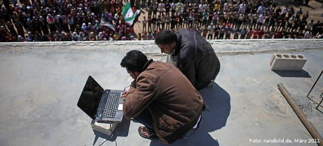 Satelitenübertragung aus Syrien | randbild.de