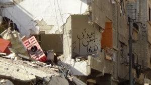 """""""Wir bleiben hier"""", Harasta."""