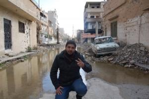 Hassan in Deir ez-Zor