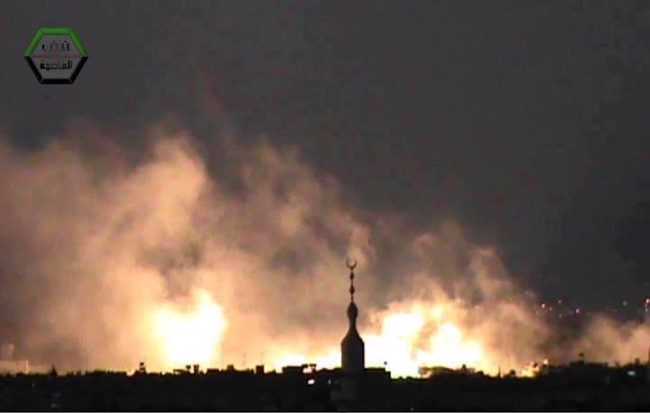 Kämpfe um Yarmouk