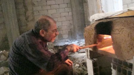 Backen in Camp Yarmouk