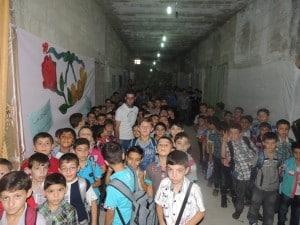 Schule im Untergrund