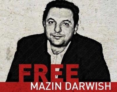 Der syrische Jurist und Journalist Mazen Darwish ist seit Februar 2012 inhaftiert.