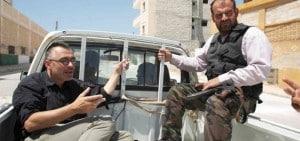 C. Reuter in Nord-Syrien im Sommer 2012 (Foto: privat)