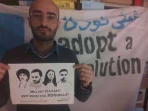 Alan Hassaf hatte in Syrien mit Razan Zaitouneh gearbeitet. Jetzt fordert er von Berlin aus ihre Freilassung.