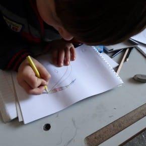 """Lernen & Zeichnen - Die Ziele der Kampagne """"Damit wir uns ausdrücken können"""""""