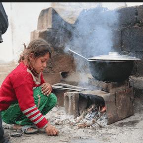 Der Alltag unter Belagerung. Quelle: Syria Deeply
