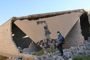 "Belagertes Daraya: ""Hope"" Foto: Humans of Syria"