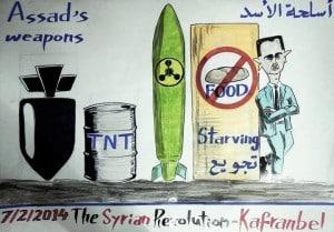 Die Kriegswaffen Assads