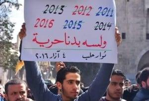 """Aleppo in der Feuerpause: """"Und wir fordern noch immer Freiheit"""""""