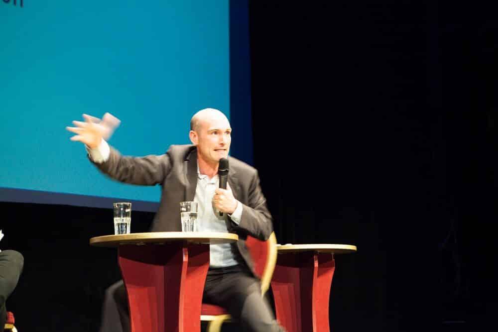 Der französische Journalist Nicolas Hénin. Foto: Anja Pietsch