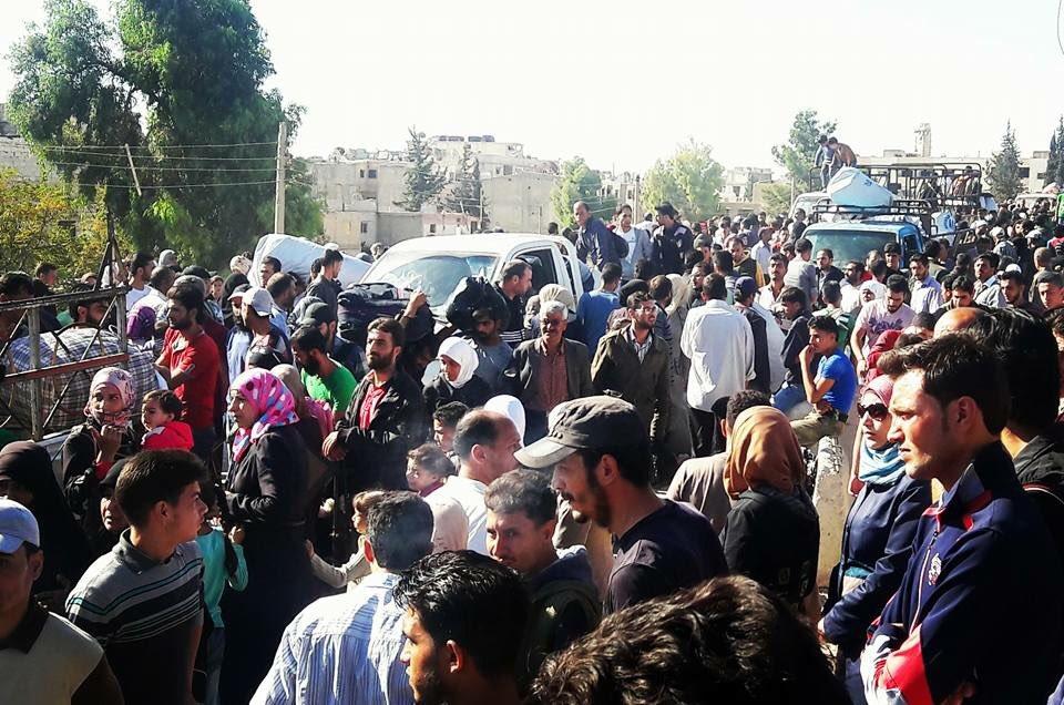 Evakuierung Moadamiyahs