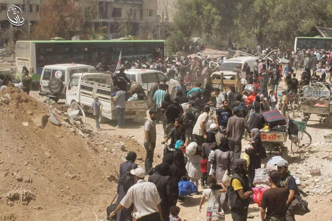 Evakuierung Darayas