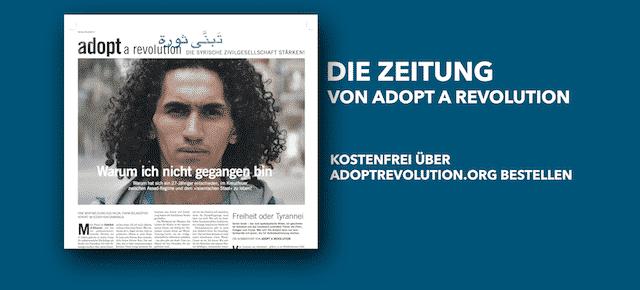 Die Zeitung von Adopt a Revolution