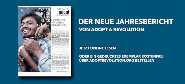 Adopt a Revolution: Rück- und Ausblick 2016/2017
