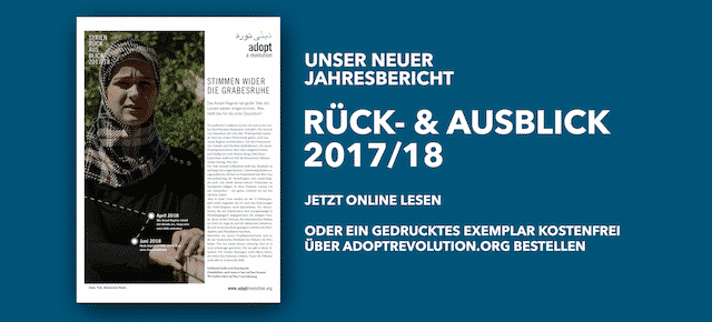 Adopt a Revolution: Rück- und Ausblick 2017/2018