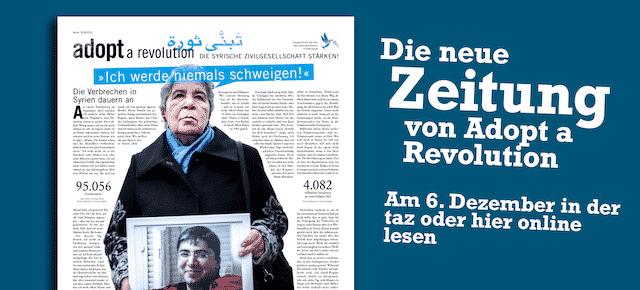 Die neue Zeitung von Adopt a Revolution