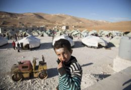 Flüchtlingslager Arsal, Libanon